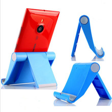 Free Shipping 1 Piece Portable Mobile Phone Holder Stand Car Style Smartphone Support Tablet Holder for iPad(China)