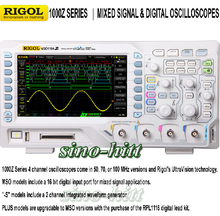 Original RIGOL MSO1104Z-S Oscilloscope 100MHz 4 analog channel 16 Digital channels with signal source oscillograph testing tools