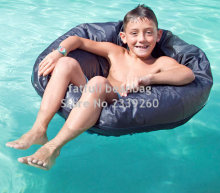 Cover only No Filler- Kids great enjoyment bean bag furniture on pool , swimming waterproof beanbag sofa chair