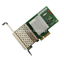 Winyao WY580F4-SFP Quad Port SFP Gigabit Ethernet PCI-E Server Network Adapter Card NIC Intel82580EB Chipset(China)