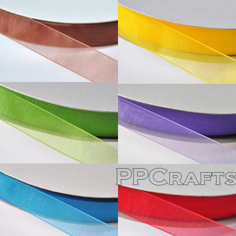 "Grosgrain Ribbon 50 Yrds 38mm #9-1.5/"" Or 100 Yrds 22mm #5  7//8/"" Polyester"