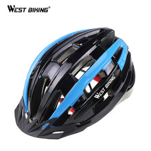 WEST BIKING Dual Use Cycling Helmet Ciclismo Unisex Upgrade Model Bicycle Mountain BMX Bike Helmets Free Size 28 Vents Holes