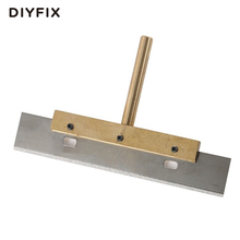 DIYFIX UV Glue Clean Tool 60W T Solder Iron Tip with 100mm Blade Soldering Iron Old Glue Remove for LCD Separator Machine