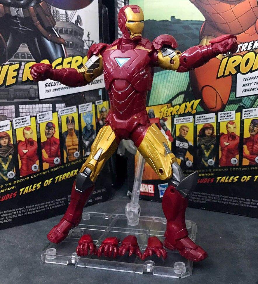 "IRON MAN MARK I Marvel Legends IRON MAN 10th Anniversary 2019 6/"" Loose FIGURE"