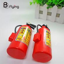 Plastic Water Squirt Gun Fire Control Backpack Extinguisher Toy For Children