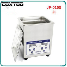 COXTOD JP-010S Digital Ultrasonic Cleaner 2L Baskets Jewelry Watches Dental Lavatrice Ultrasuoni Heated Ultrasonic Bath Cleaning