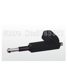 250mm stroke 4000N load 5mm/sec speed 24V DC linear actuator for medical hospital electric bed electric sofa