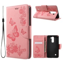 Buy LG Stylus 2 Flip Cover Printed Flip PU Leather Wallet Case LG Stylus 2/Stylus 2 Plus/Stylo 2/Stylo 2 Plus Coque Pink for $3.99 in AliExpress store