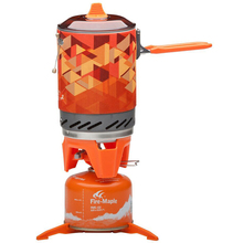 Outdoor Stove One-piece Camping Stove Collector Pot Camping Cooking Fire Maple Fms-x2 600g 1.0L (not include a gas canister)
