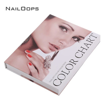 Excellent Product For Profashion Salon Nail Store Gel Color Display Tool 120colors Nail Gel Card Book