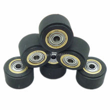 6x Copper Core Pinch Rollers Cutting Plotter Paper Pressing Wheel Printer Parts Tool 3x11x16mm For Roland Vinyl Plotter Cutter