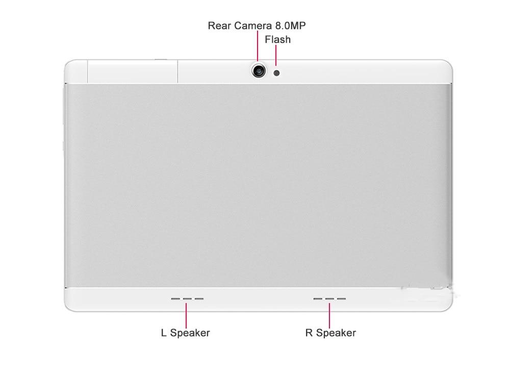 4g tablet back 8MP