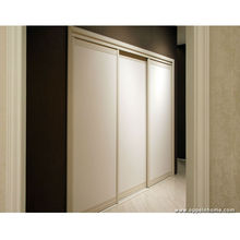 OPPEIN White Wardrobe with 3 Sliding Doors for Bedroom Furniture YG11012(China)
