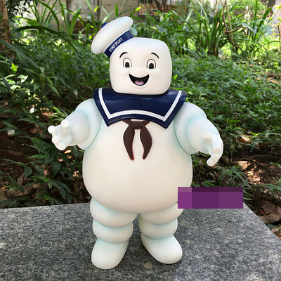 New Arrival Ghostbusters StayPuft Marshmallow Man Money Bank PVC Action Figure.<br>