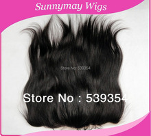 In stock Brazilian virgin hair lace frontal straight lace frontal piece no shedding and tangle 13x4