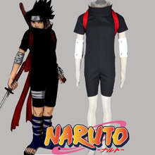 Hot sale anime cosplay costume naruto sasuke uchiha cosplay costume custom made sasuke cosplay(China)