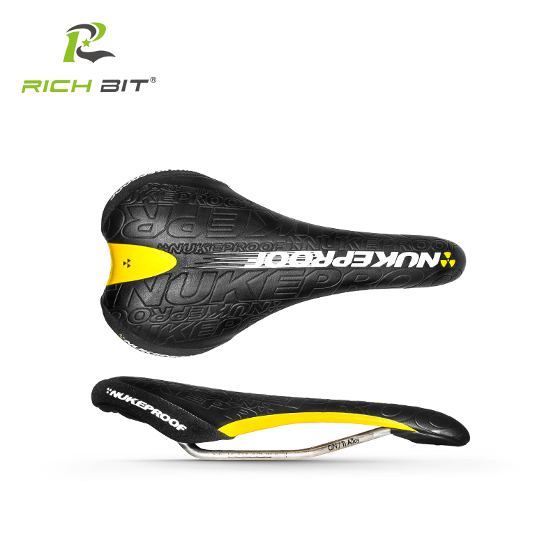 New NUKEPROOF Bike Bicycle Saddle Mountain bike saddle Cushion Sillin Bicicleta Carretera Road MTB Cycling Saddle Bicycle Parts<br>