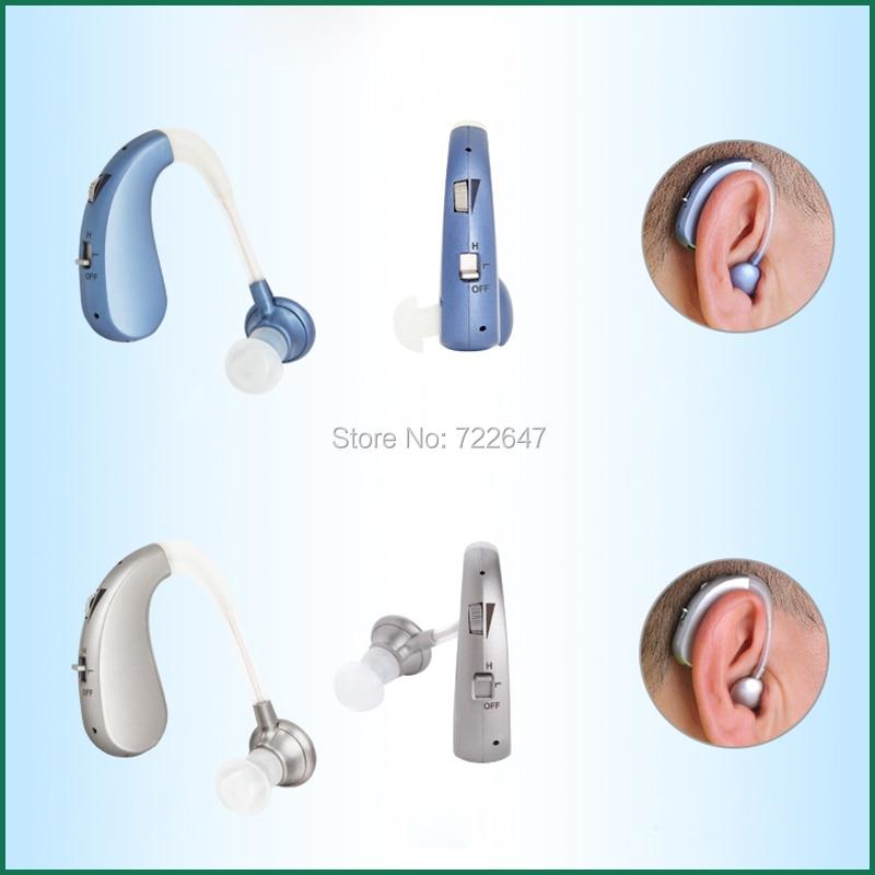 2 modes hearing aid behind the ear