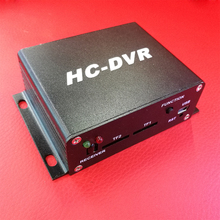 CWH HC-DVR 720P MINI DVR Dual SD Card Memory Recording H.264 Compression Wide Dynamic Voltage DC8-28V Support HDMI Video Out