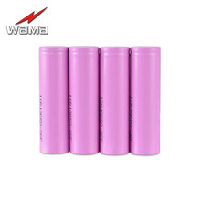 Wama 18650 Batteries Real 2600mAh Li-ion 3.7V Rechargeable Electronic Cigarette Battery Power Bank Flashlight Torch - WAMA Official Store store