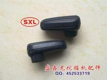 Excavator parts operating handle rubber Carter CAT excavator walking rod rubber(China)