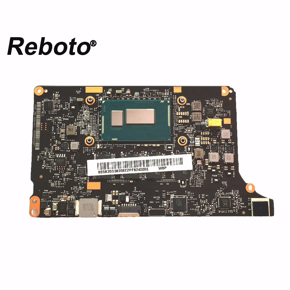 Reboto High quality For Lenovo Yoga 2 Pro W8P Laptop Motherboard 5B20G38208 With i5-4210U 1.7 Ghz 4GB RAM NM-A074 100% Tested