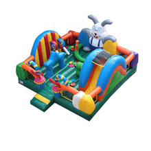 animal inflatable trampoline bouncer,inflatable jumping bed kids fun city YLW-TC44
