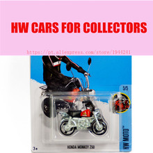 Toy cars 2016 New Hot 1:64 cars Wheels Honda Monkey Z50 Models Metal Diecast Car Collection Kids Toys Vehicle  Children Juguetes