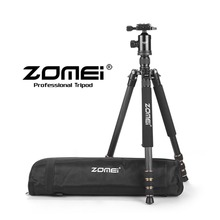 ZOMEI Durable Z668C Professional Portable Travel Stable Compact Carbon Fiber camera Tripod Monopod&Ball Head for SLR camera(China)