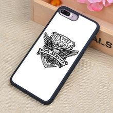 Harry Potter OWL Post Service Printed Soft Rubber Cell Phone Case For iPhone 6 6S Plus 7 7 Plus 5 5S 5C SE 4 4S Back Cover Shell
