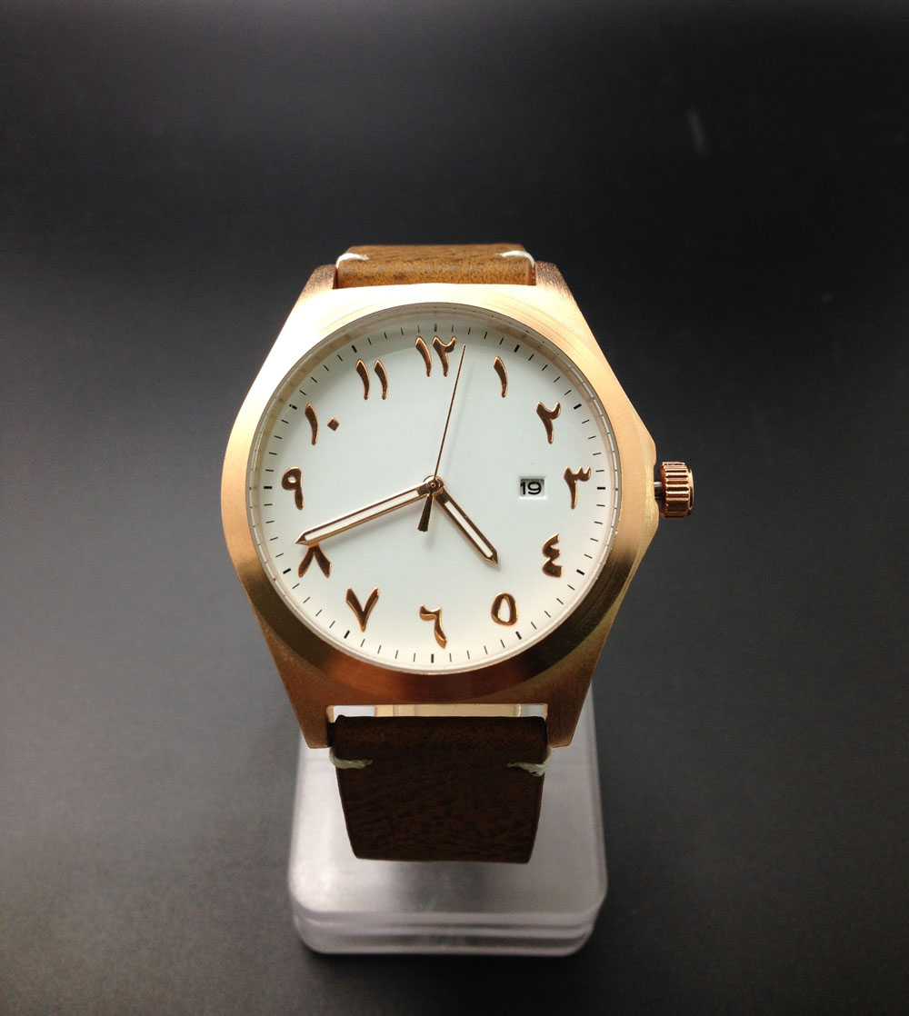 New Design Watch Arabian Montre Japan Quartz Movement leather Bands Unique Rose Gold<br><br>Aliexpress