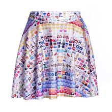 Hot New Expression Design Women Sexy Pleated Skirts Tennis Bowling Bust Shorts Skirt Slim Female Fitness Sports Apparel A Style