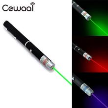 Cewaal Potable Convenient Powerful Green/Red/Blue Violet Laser Pointer Pen Visible Beam Light High Power School Supplies(China)