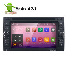 Quad Core Android 7.1 4G WIFI Double 2 DIN Car DVD Player Radio Stereo GPS Navi RED DVR DAB SWC BT MAP Mirror-link 2G RAM FM/AM - Hizpo_Tech Store store