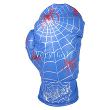 Spider Web Design Boxing Glove Driver Wood Cover Golf Club Driver Headcover 4 Colors For Option(China)