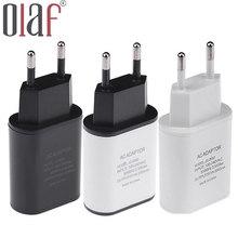 Olaf High Quality Travel Wall Usb Charger 5V 2a Fast Usb Charger Mobile Phone Usb Adapter Charger For iPhone 6 6s 7 Plus Samsung
