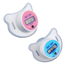 Baby Nipple Thermometer Termometro Baby Pacifier LCD Digital Mouth Nipple Pacifier Chupeta Termometro Testa