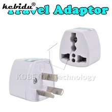 kebidu Travel Adaptor Power Adapter 3 pin AU Converter To US/UK/EU Universal AU Plug Charger For New Zealand Australia
