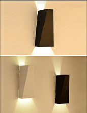 White/Black Indoor wall Light Bar Bedside Lamps Sconce Lighting Fixture Modern Loft LED Wall Lamp For Living Bed Room