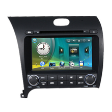 "7"" Car Radio DVD GPS Navigation Central Multimedia for Kia K3 Cerato 2013 USB RDS iPod Analog TV Phonebook Bluetooth Handsfree"