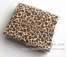 Leopard print pattern glasses cloth cleaning cloth lens cleaning cloth 15*18cm one bag 90-100pcs(China)