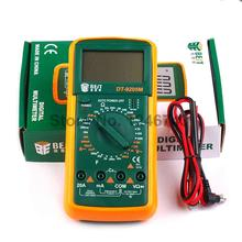 DT9205 AC/DC Professional Electric Handheld Tester Meter Digital Multimeter(China)