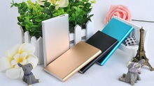 Ultra thin power bank 6000mAh USB External Backup Battery Portable Universal Charger PowerBank for all phone for laptop