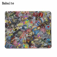 Babaite Diy Customized Mouse Pad Rectangle Non-Slip Rubber MousePad at Office Depot Office For Gaming CS:GO dota 2 Mouse Pad(China)
