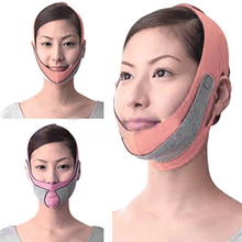Hot Selling!!!Anti Wrinkle V Line Half Face Cheek Lift Slimming Strap Chin Slim Mask Belt 5H75(China)