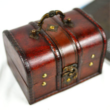 Luxury Advanced Vogue European Retro Vintage Tea Jewelry Accessories Storage Case Wooden Box For Shop Display Gift Finishing Box
