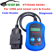 Better Than ELM327 Original XTYDIAG XD301 Diagnostic Tool & Code Scanner For Can Bus EOBD OBDII OBD2 Protocols XD 301 Easy Use(China)