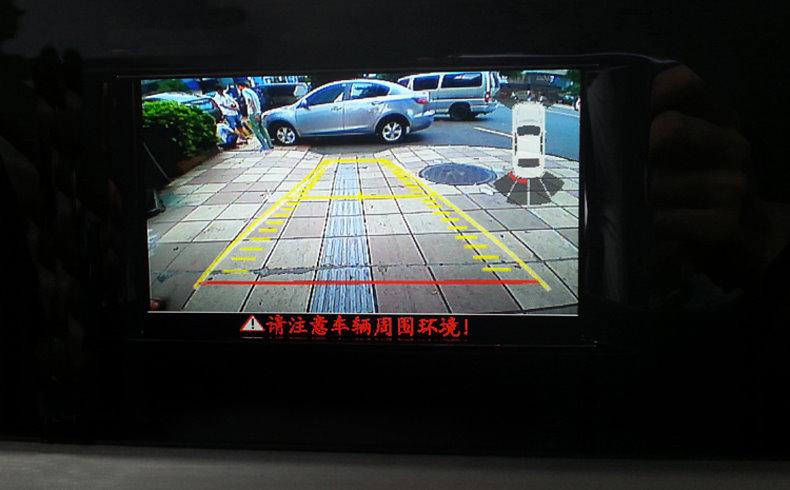 For For Volvo XC60 V40 V60 S60 S60L S80L Original Car Screen Reversing Track Image 4