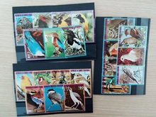 Lot Guinea bird Used Special Worldwide Stamps With Postage Mark Good Condition No Repeat Original Post Stamp