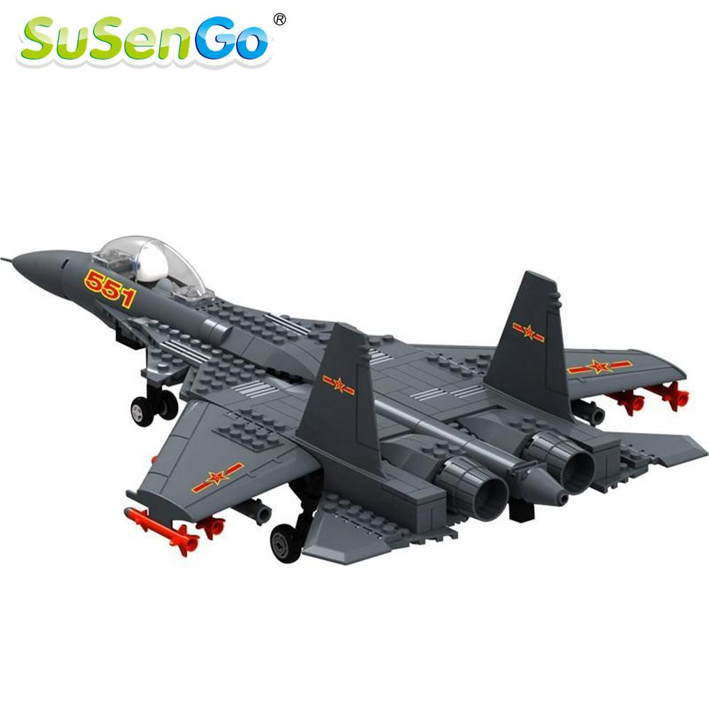 F-15 Eagle Fighter Plane Building Blocks Military Army Kits Models Gift Construction Toys  Bricks<br><br>Aliexpress